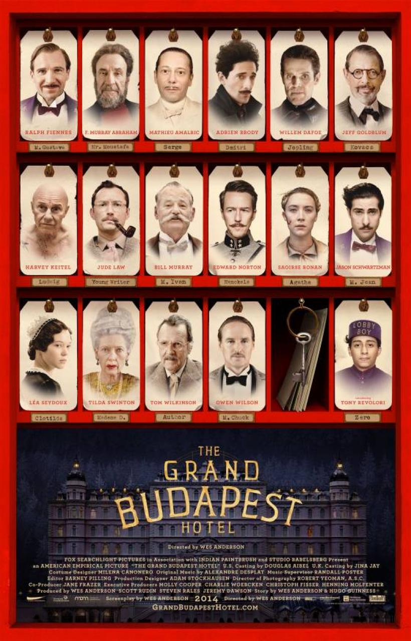 Film Review: The Grand Budapest Hotel, reviewed by critic ... Wes Anderson Moonrise Kingdom Poster