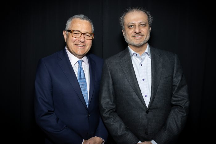 Preet Bharara Jeffrey Toobin Writers Bloc Presents