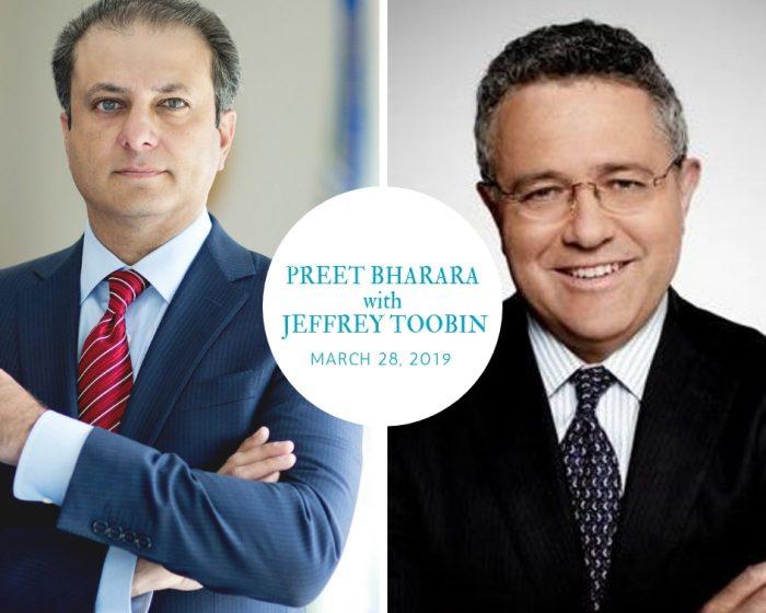 Preet Bharara Jeffrey Toobin